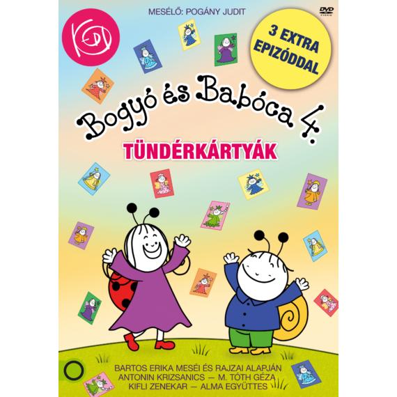 Bogyó és Babóca 4. - Tündérkártyák – DVD