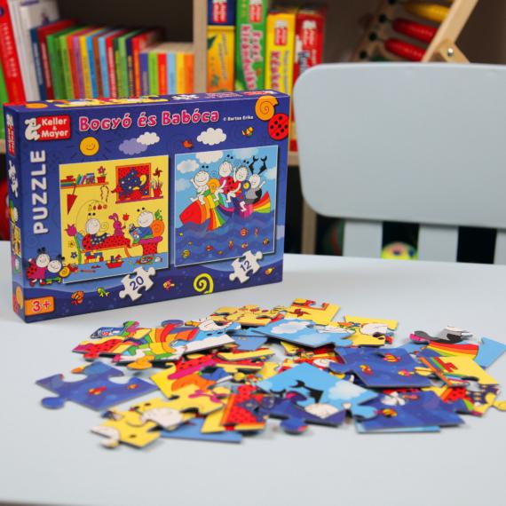 Bogyó és Babóca puzzle – Szivárványhal