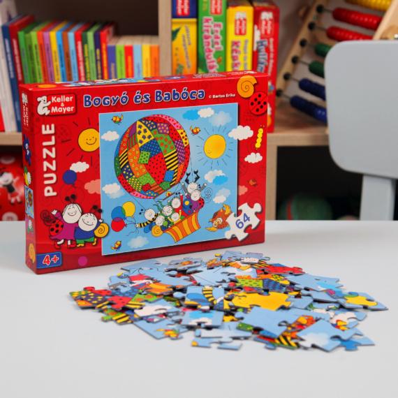 Bogyó és Babóca puzzle – Léghajó