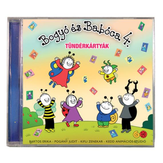 Bogyó és Babóca hangoskönyv - tündérkártyák
